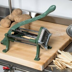 Industrial French Fry Slicer Heavy Duty Commercial Grade Potato Cutter Food 3 8