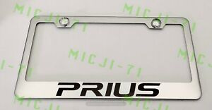 Prius Stainless Steel License Plate Frame Rust Free W Bolt Caps