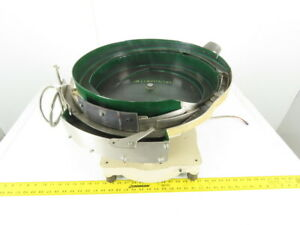 Magnetic Vibratory Small Parts Feeder Bowl 115v 4 Deep X 18 Diameter