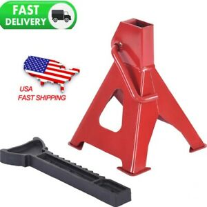 2 Pc Car Jack Stands 3 Ton Vehicle Support 17in High Lift Garage Auto Tool Set