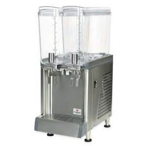 Crathco Cs 2e 16 Refrigerated Drink Dispenser W 2 2 2 5 Gal Bowls