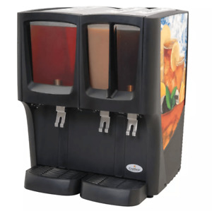 Crathco C 3d 16 Refrigerated Drink Dispenser W 1 5gal 2 2 2 5gal Bowls P