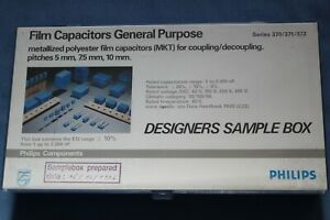 New Philips Metallized Polyester Film Capacitor Assortment Sample Kit