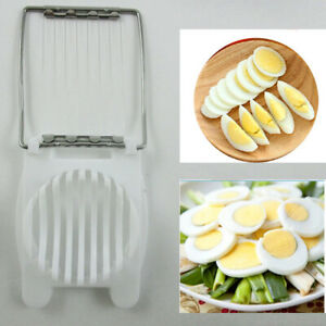 Boiled Egg Slicer Tool Mushroom Kitchen Cutter Cheese Mold Tool Cut Sectioner