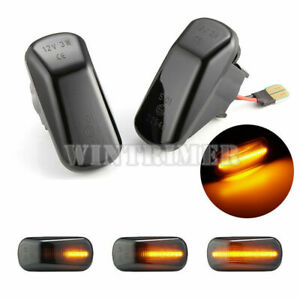 For Honda Accord Civic S2000 Acura Sequential Led Side Marker Turn Signal Light