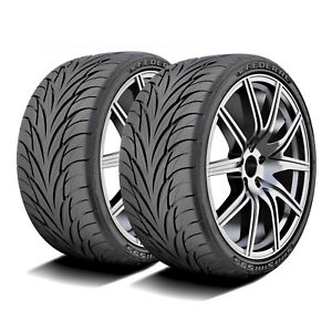2 New Federal Super Steel 595 255 40r17 94v A s Performance Tires
