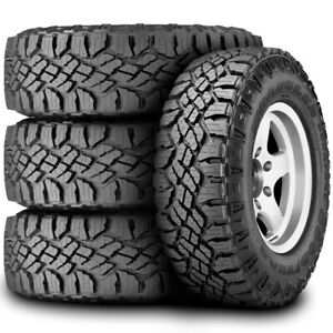 4 New Goodyear Wrangler Duratrac Lt 265 75r16 Load E 10 Ply At All Terrain Tires