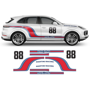 Herbie Love Bug Style Decal Set For Porsche Cayman Boxster
