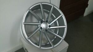 W013 20x10 0 5x112 Et35 Cb66 6 Silver Machined Face Set Of 4 Wheels