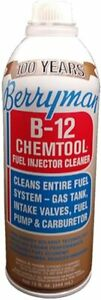 Berryman 0116 B 12 Chemtool Carburetor Fuel System And Injector Cleaner 15 Oz