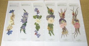 Franklin Covey Page Finder x6 Classic Size Nature s Wildflowers Real Flowers