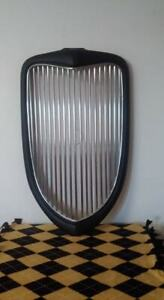 Look1934 Ford Grill And Fiberglass Shell With Chrome Strip