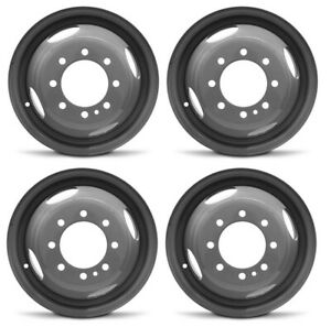 New Set Of 4 16 Replacement Dually Steel Wheel Rim 99 04 Ford F350 Super Duty