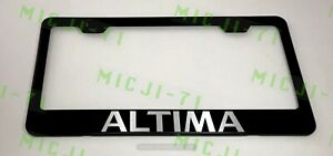 Altima Stainless Steel License Plate Frame Rust Free W Bolt Caps