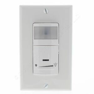 New Leviton White Dimming Motion Sensor 1 pole 3 way Switches On off Ipsd6 odw