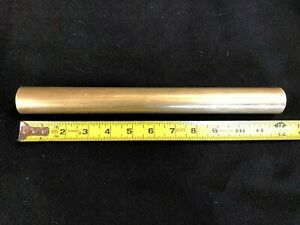 1 1 4 1 25 Round Brass Rod bar 12 00 Long Lathe Or Milling Stock