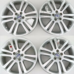 4 Volvo Oem 18x7 Camulus Alloy Rims Wheels 30671513 For Xc90 2003 2014