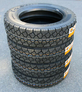 4 New Cosmo Ct706 Plus 245 70r19 5 Load H 16 Ply Drive Commercial Tires