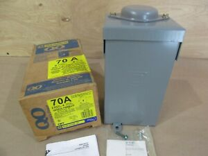 Square D Qo24l70rb Outdoor Load Center 70 Amp Main Lug 2 Space 4 Circuit a97