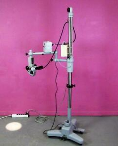 Zeiss Opm 16 3 Opmi Operating Ent Surgical Microscope Stand F 125 16 6x 40x