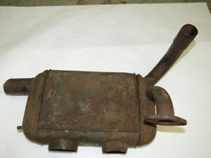 Rare Nos 1939 1940 Ford Hot Air Heater Manifold Assembly E 1 2
