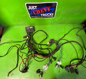 Complete Western Fisher Snow Plow Wiring Harness Chevy Gmc 99 06 3 Port 29070
