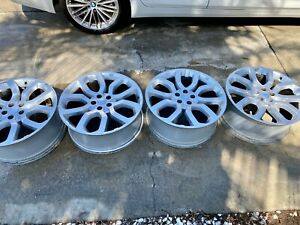 Land Rover 22inch Oem Reconditioned 5 Split Spoke Alloy Wheels Style 5004