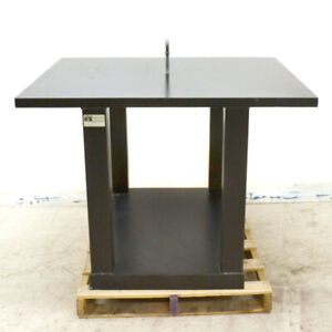Kinetic Systems Vibraplane Pip 4250 36 9600 Black Steel Isolation Table 50 x 42