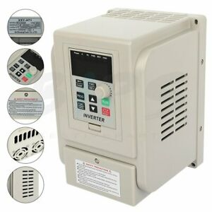 3hp 220v 2 2kw Variable Frequency Drive Single To 3 Phase Speed Controller