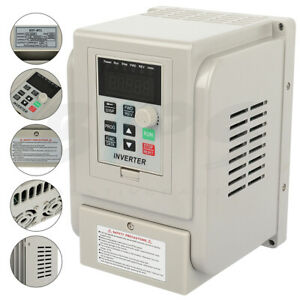 6hp 220v 4kw Variable Frequency Drive Inverter Single To 3 Phase Speed Control