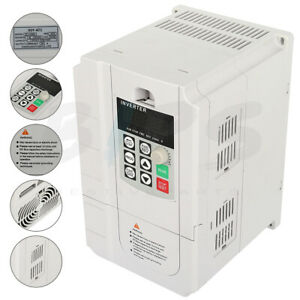 7hp 220v 5 5kw Variable Frequency Drive Single Phase To 3 Phase Speed Control