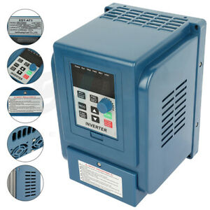 2hp 380v 1 5kw 4a Variable Frequency Drive Verter Vfd 3 Phase Speed Controller