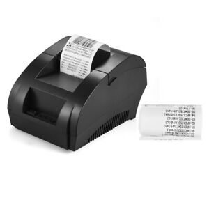 Pos 5890k 58mm Usb Thermal Printer Receipt Barcode Printing For Android Ios K5l1