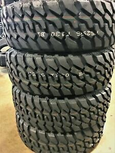 4 New Green Max Traveler M T Lt 285 70r17 Load E 10 Ply Mt Mud Tires