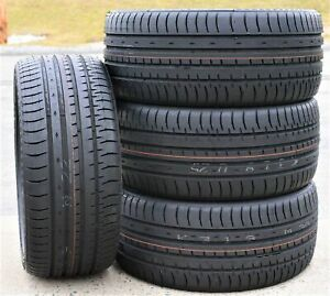 4 New Accelera Phi 245 45zr19 245 45r19 102y Xl A s High Performance Tires