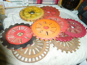 International Ih Corn Planter Seed Plates Sweet Field Corn soybeans 11 Each