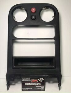 1990 1993 Mazda Mx 5 Miata Tombstone Radio Trim Bezel Dash Cover W Switch