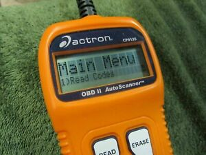 Actron Cp1935 Obd Ii 2 Autoscanner