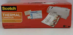 Scotch Thermal Laminator Value Pack With 20 Bonus Pouches