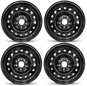 New Set Of 4 16 X 6 5 Replacement Steel Wheel Rim For 2006 2012 Honda Civic