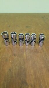 Craftsman 3 8 Drive 6 Pt Flex Swivel Metric Sockets Set Of 6