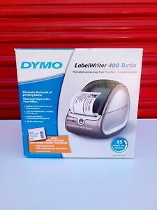 Dymo Labelwriter 400 Turbo Thermal Label Printer W Usb And Power Cord