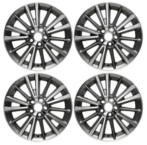New Set Of 4 16 X 6 5 Replacement Wheel Rim For 2014 2020 Toyota Corolla