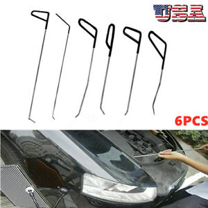 Tools New Quality Hooks Rods Paintless Dent Removal Car Repair Kit Tools Us X5o3
