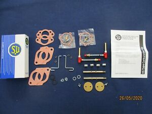 Su Twin Carb Rebuild Kit Mg Midget 1500 Hs4 Waxstat Conversion