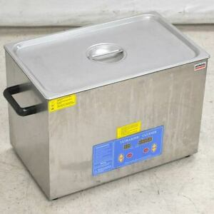 Kendal Hb s 027dht Commercial Grade Ultrasonic Cleaner 27 Liters Heated Digital