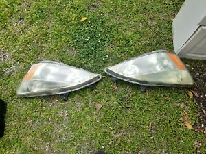 Headlights 2004 Honda Accord Ex 3 0l