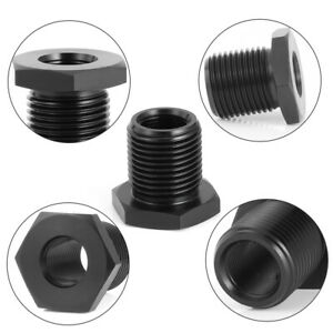 Straight Bolt On 1 2 28 To 3 4 16 Threaded Adapter Automotive Oil Filter Autos
