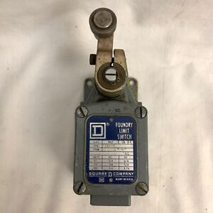 Square D Class 9007 Series A Type Ftub 4 Foundry Limit Switch 125 600volt
