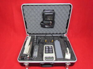 Canberra Adm 300 Multi function Survey Meter Geiger Counter Radiac Set With Ca